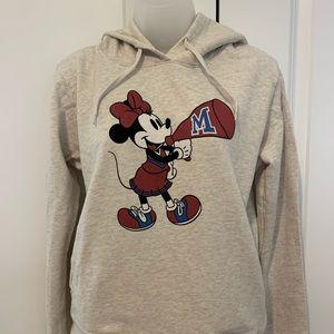 Cheerleading Minnie Mouse hoodie